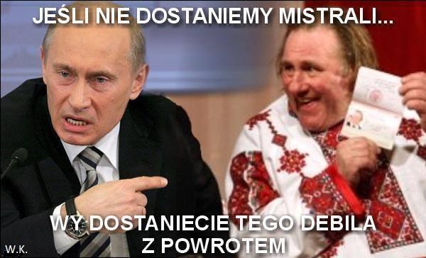 Putin grozi