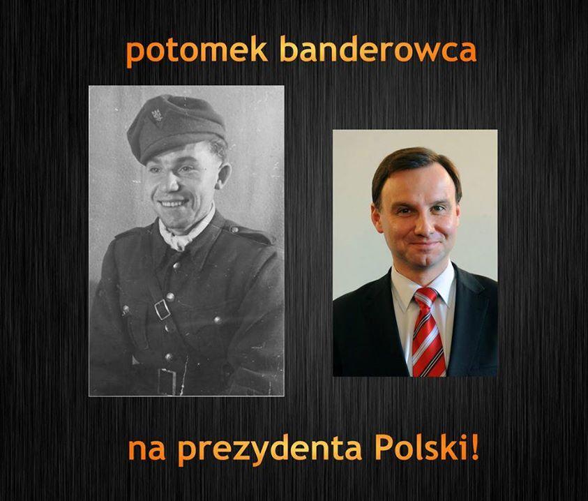 Andrzej Duda Potomkiem Banderowca Dementi Andrzeja Dudy
