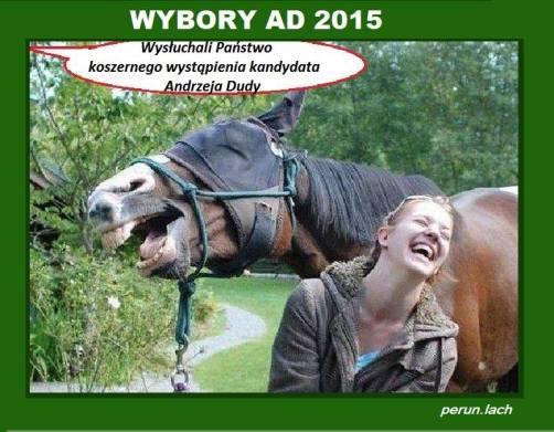 koszerne wystapienie Andrzeja Dudy