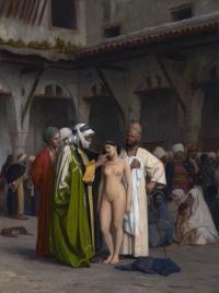 Slave market, by Jean-Léon Gérôme