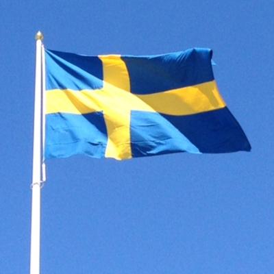 Svensk flagga - original