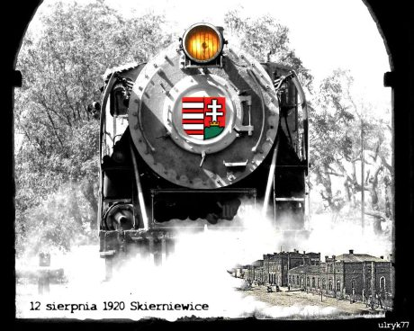 12 sierpnia 1920 do Skierniewic dotarł transport z Węgier