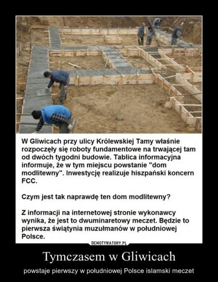 Tymczasem w Gliwicach.