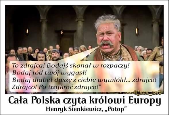 Cała Polska czyta królowi Europy