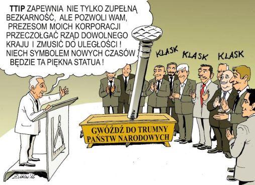 ARTur Żukow - TTIP gwóźdź do trumny