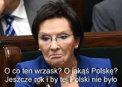 O co ten wrzask